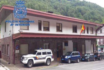 Detenido en Valcarlos (Navarra) con requisitoria judicial en vigor