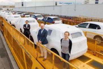 Volkswagen Navarra alcanza durante la pandemia su récord histórico en el promedio de coches distribuidos por tren