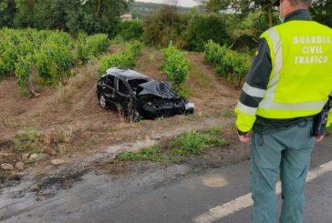 Herida grave una joven de 24 años en la carretera N-111 en Viana (Navarra)