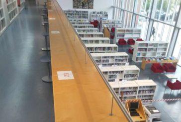 Las bibliotecas de Pamplona abren sus zonas de lectura y estudio