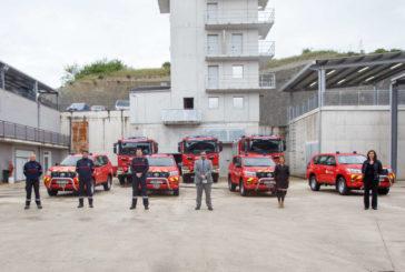 Bomberos de Navarra renueva su flota con la incorporación de 7 nuevos vehículos