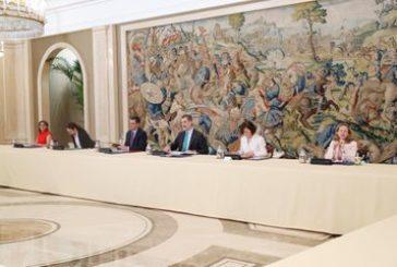 El Rey preside en el Palacio de la Zarzuela la reunión del Consejo de Seguridad Nacional (CSN)