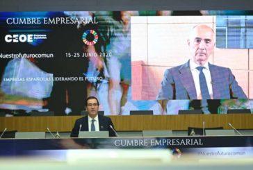 4ª Jornada Cumbre Empresarial de la CEOE con Infraestructuras, Construcción, Inmobiliaria y Servicios
