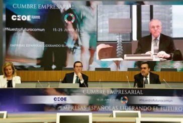 5ª Jornada Cumbre Empresarial de la CEOE: Responsabilidad Social Corporativa, Cultura y el Deporte, Emprendedores y Autónomos