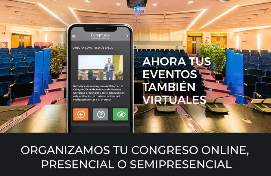 El Colegio de Médicos de Navarra apuesta por la digitalización y el desarrollo de eventos virtuales