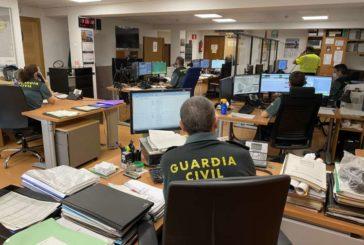 Guardia Civil de Navarra recibe 37.186 llamadas telefónicas en el estado de alarma