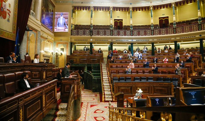 El Congreso respalda el decreto de la 'nueva normalidad' del Gobierno