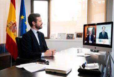 Casado tiende la mano a Sánchez para hacer política constructiva y en positivo en el País Vasco y el resto de España