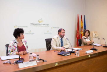 El Presidente del Parlamento de Navarra presenta la Memoria del primer año de la X legislatura
