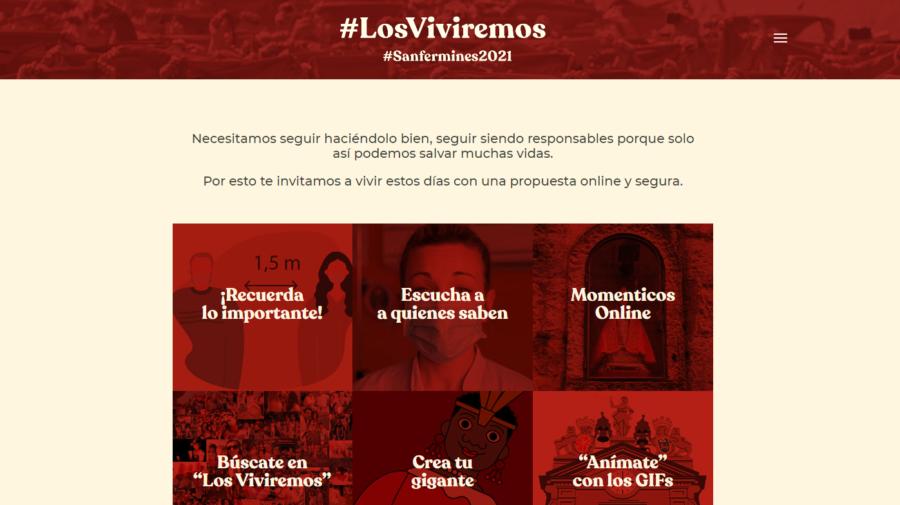El Ayuntamiento de Pamplona lanza una campaña para recordar que este año no hay Sanfermines