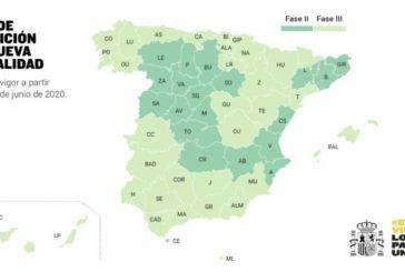 Todas las CCAA en Fase 3 permitirán moverse el lunes entre sus provincias salvo Extremadura