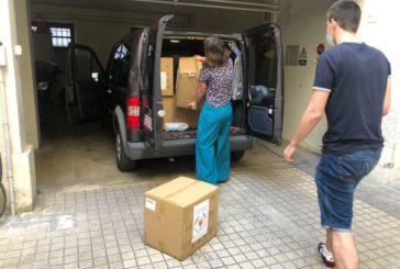 de Cruz Roja, Cáritas y CERMI distribuirán 45.000 mascarillas entre personas vulnerables