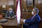 El alcalde analiza con el nuevo Presidente de la CEN la situación económica generada por el coronavirus