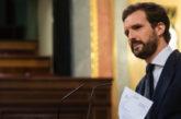 """Casado exige el cese de Marlaska y culpa a Sánchez de las """"purgas"""" en la Guardia Civil"""