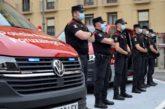 Dos vehículos para las Patrullas de Respuesta Inmediata de la Policía Foral de Navarra