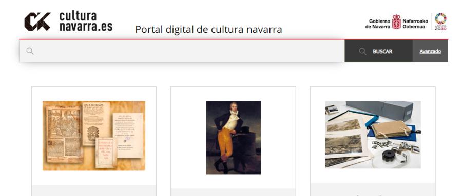 Un nuevo Portal Digital reúne 281.000 recursos de los archivos, museos y bibliotecas de Navarra públicas de Navarra