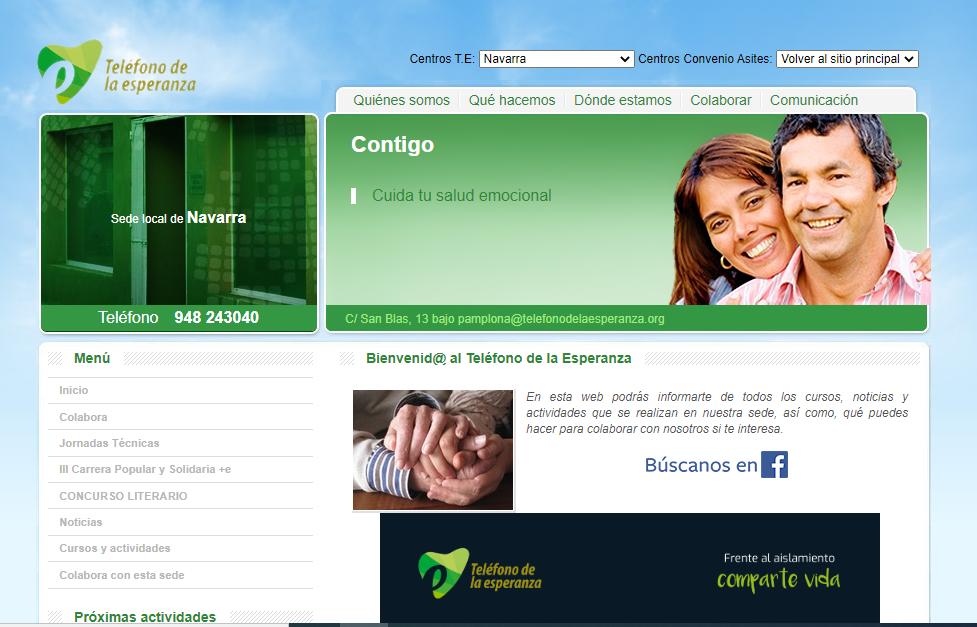 El Teléfono de la Esperanza recibe una subvención de 90.000 euros