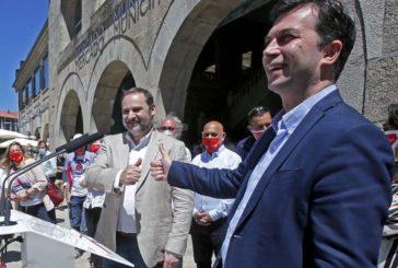 """12J.- Ábalos pide el voto para G. Caballero: """"Galicia no puede ser una trincherafrente al Gobierno"""