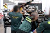La Guardia Civil destruyó en España más de 86.000 armas, 1658 armas en Navarra