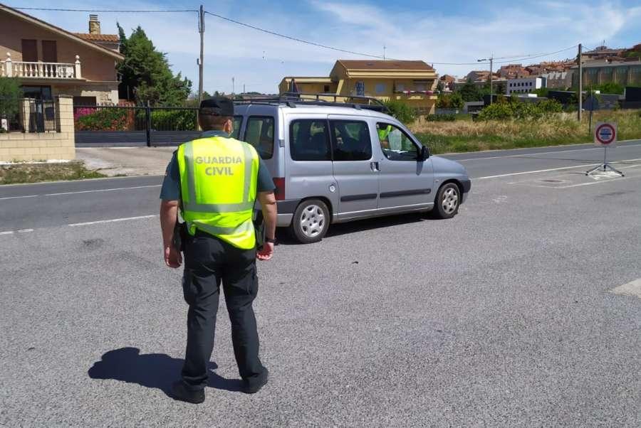 Detenido en Andosilla por varios delitos y atropello a la autoridad