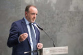 """Esparza (NA+) pide a los representantes de Pamplona y Comarca """"acordar siempre que no esté Bildu"""""""