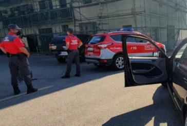 2 heridos en 18 accidentes de tráfico en Navarra