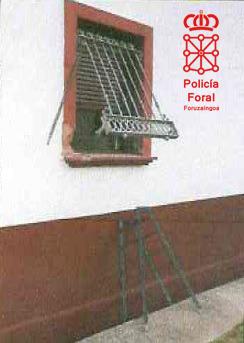 Detenidos por robo con fuerza en una vivienda en Estella