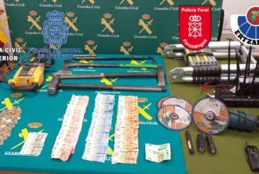6 detenidos por robos por el método