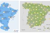 El tiempo hoy miércoles con alerta amarilla en gran parte de España