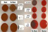 Un experimento demuestra lo que expulsa una persona que no usa mascarilla