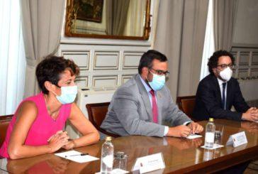 El Gobierno de Navarra y el Estado acuerdan avanzar en el traspaso de las competencias de tráfico y sanidad penitenciaria