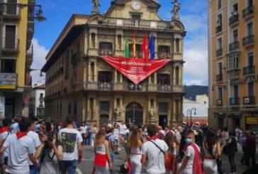 Arranca con normalidad y sin incidentes este 6 de julio sin fiestas de San Fermín