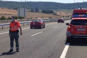 6 heridos en 2 accidentes por colisión en la Autovía del Camino, el segundo en la retención producida