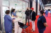 Refuerzos en Refena para realizar test PCR a la población infantil