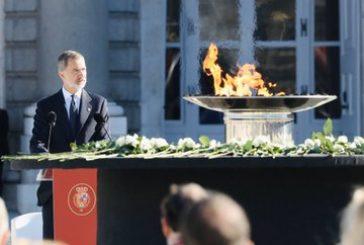 El Rey cierra el homenaje civil a las victimas del coronavirus: