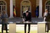 Gobierno y agentes sociales firman el Acuerdo por la Reactivación Económica y el Empleo