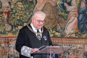 El presidente del TC apela a la lealtad institucional y el sometimiento a la ley  en el 40 aniversario del Tribunal Constitucional