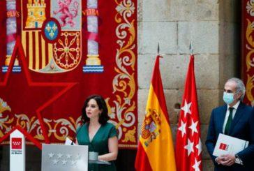 Madrid hace obligatorio el uso de la mascarilla y anuncia una cartilla Covid-19, entre otras medidas