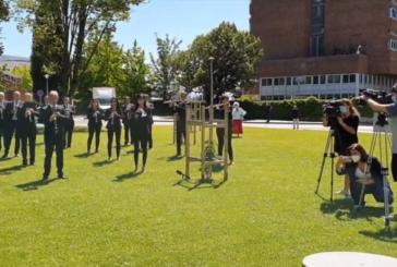 Homenaje de 'La Pamplonesa' en el Complejo Hospitalario de Navarra