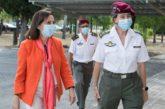 Robles asegura que las Fuerzas Armadas están preparadas para actuar en 24 horas si se dieran rebrotes