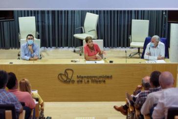Chivite se reúne con alcaldes de las zonas de Tafalla y Tudela para trasladarles el apoyo del Gobierno