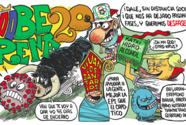 La Peña Oberena presenta su pancarta de Sanfermines y su