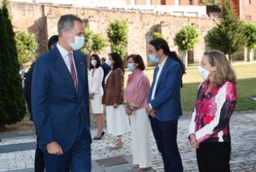 El Rey Felipe VI asiste a la Reunión de la XXI Conferencia de Presidentes en La Rioja
