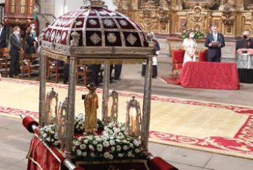 Los Reyes asisten a la Ofrenda Nacional al Apóstol Santiago