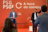 12J.- Sánchez regresa a Galicia para movilizar al electorado progresista en apoyo a G. Caballero