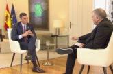 Sánchez adelanta una subida de impuestos en España con una