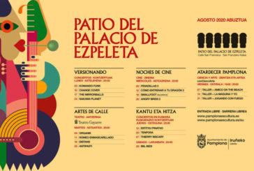 AGENDA; 3 a 22 de agosto, en Palacio de Ezpeleta y Frontón Jito Alai, conciertos, cine y atardecer