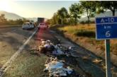 Herido leve tras colisionar 7 vehículos en Villanueva de Araquil (Navarra)