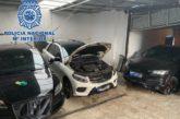 La Policía nacional localiza un garaje en Algeciras en el que se escondían coches utilizados para el transporte de hachís