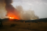 El incendio de Gazólaz quema 18 hectáreas de pinar